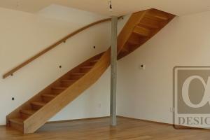 Dřevěné schody