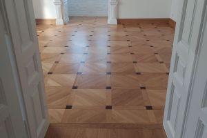 Intarzované a mozaikové dřevěné podlahy